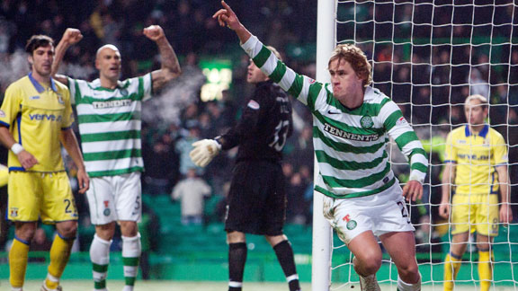 Celtic goal Thomas Rogn