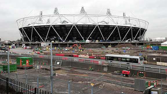 The 2012 London Olympic Stadium