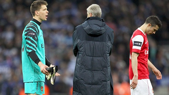 Arsene Wenger begins the inquest with goalkeeper Wojciech Szczesny