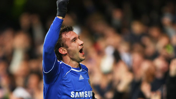 Andriy Shevchenko Chelsea celeb 