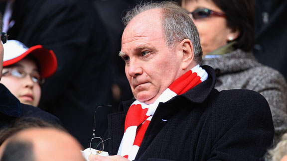 Uli Hoeness has been the target of criticism in recent weeks