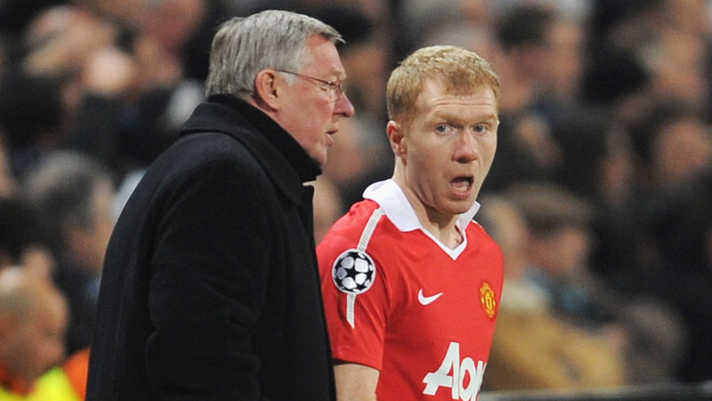 Sir Alex Ferguson, Paul Scholes