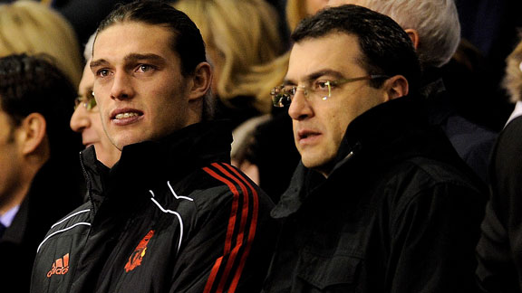 Damien Comolli and Andy Carroll