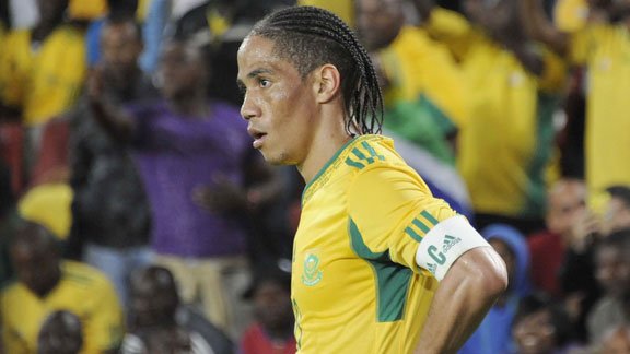 Steven Pienaar will add to his 57 caps for Bafana Bafana