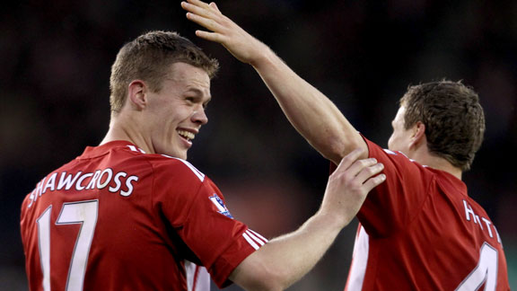 Ryan Shawcross and Robert Huth