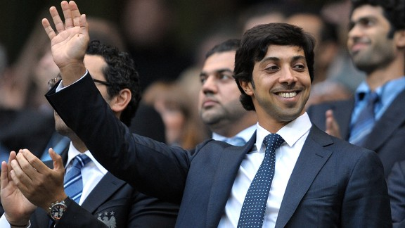 Sheikh Mansour: Worth £20 billion