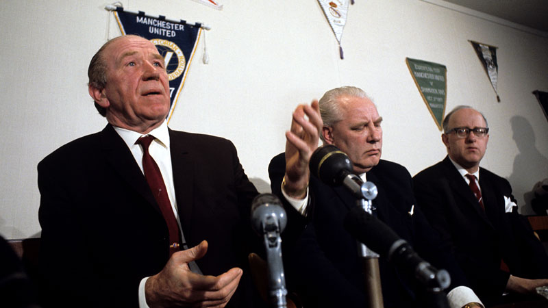 Sir Matt Busby, Louis Edwards
