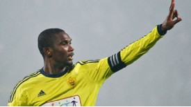 Samuel Eto'o in Anzhi colours