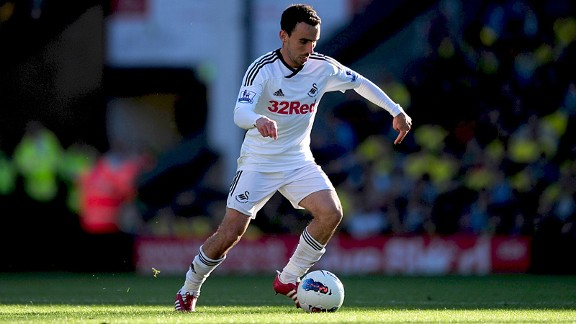 Leon Britton: 93% pass completion rate
