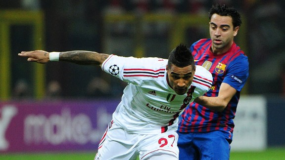 Kevin Prince Boateng, Xavi Hernandez