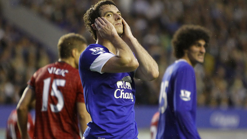 Everton's Leighton Baines