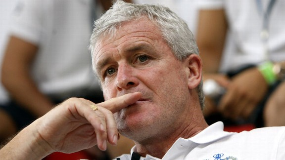 Mark Hughes close