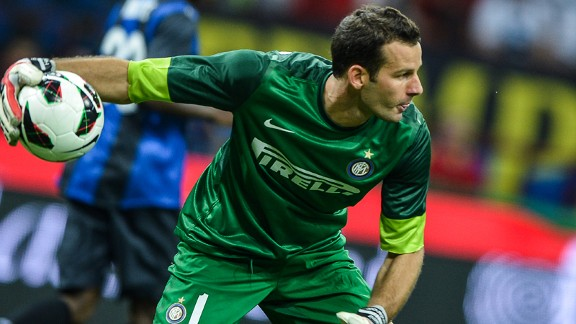 Samir Handanovic Inter Milan