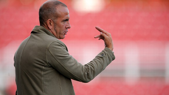 Paolo Di Canio took charge of Swindon in 2011
