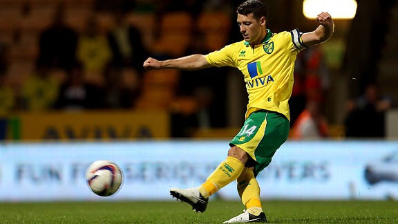 Norwich City's Wes Hoolahan
