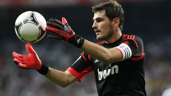 Iker Casillas made his Real Madrid first-team debut at age 16