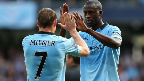 Yaya Toure is key to Mancini's tactical reshuffles