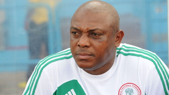 Nigeria coach Stephen Keshi is a man under serious pressure