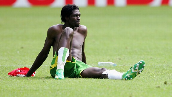 Emmanuel Adebayor: Back to help Togo qualify