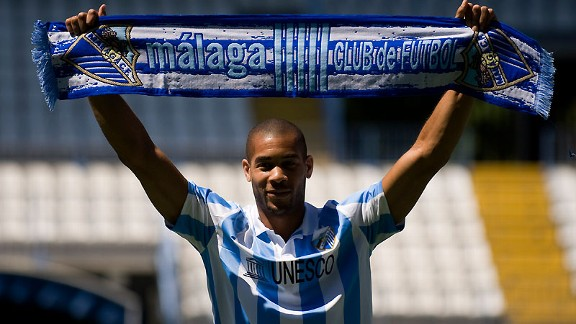 Oguchi Onyewu: Joined Malaga on loan in August