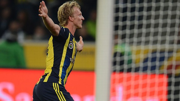 Dirk Kuyt has settled quickly in Turkey, on and off the pitch