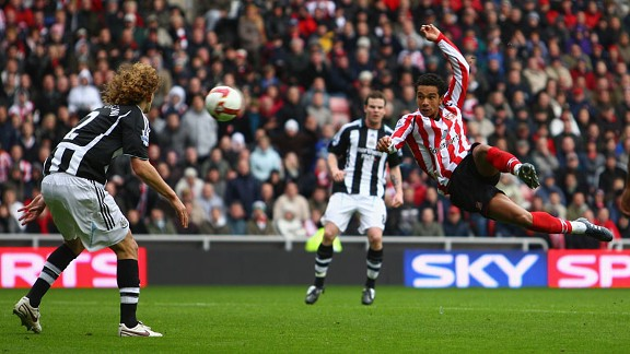 Kieran Richardson helped keep Sunderland up and send Newcastle down