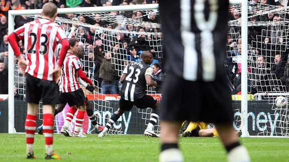 Shola Ameobi: Seven derbies and seven goals