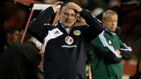 Scotland manager Craig Levein has broken the will of the nation