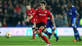 Cardiff's Peter Whittingham scores