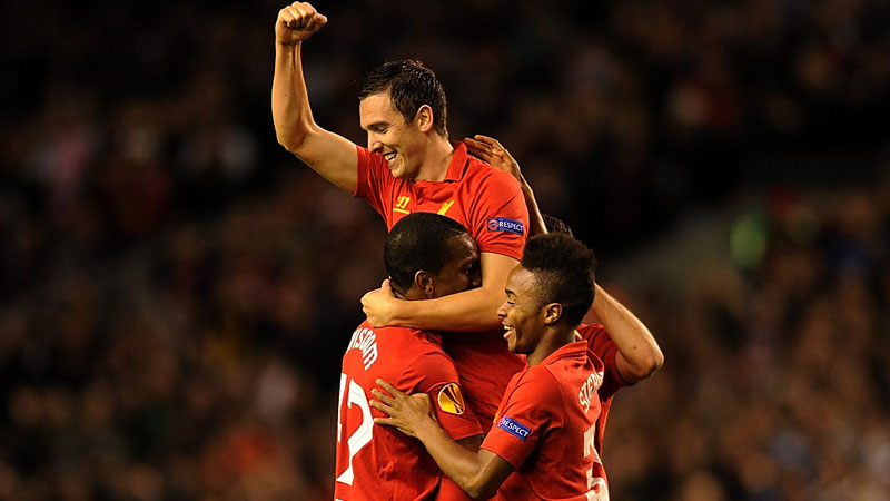 Stewart Downing's strike earned Liverpool a valuable three points against Anzhi
