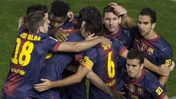 Barcelona moved clear at the top of La Liga