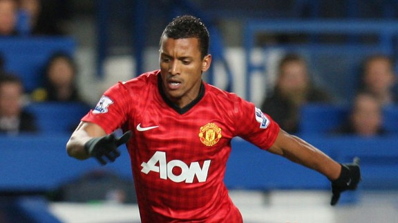 Nani's time at Manchester United may be coming to an end