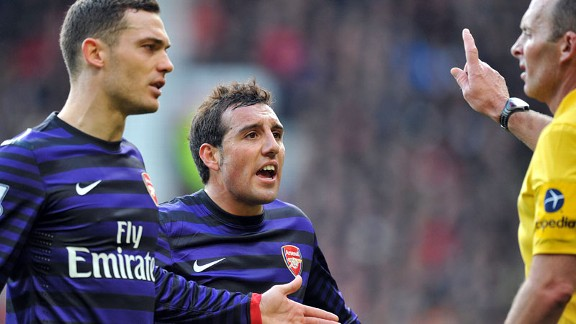 Arsenal were below par against Man Utd, with captain Thomas Vermaelen disappointing