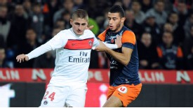 Marco Verratti's battle with Younes Belhanda was a key part of the game