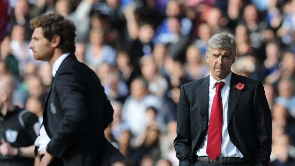AVB has backed under-fire Arsenal boss Arsene Wenger