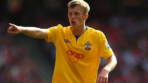 James Ward-Prowse has broken into the Southampton first-team in the Premier League