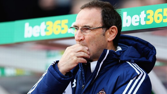 Sunderland are in the market for new faces in the January transfer window, Martin O'Neill has confirmed