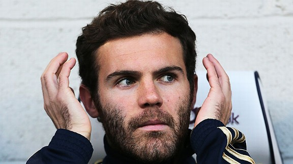 Juan Mata was dropped to the bench