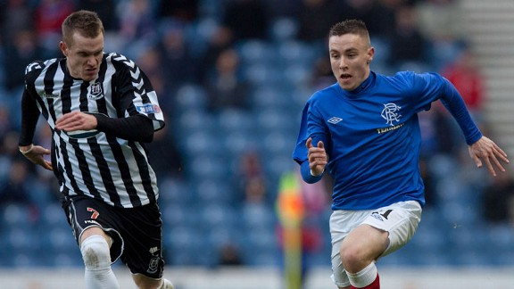 Rangers youngster Barrie McKay must keep his feet on the ground