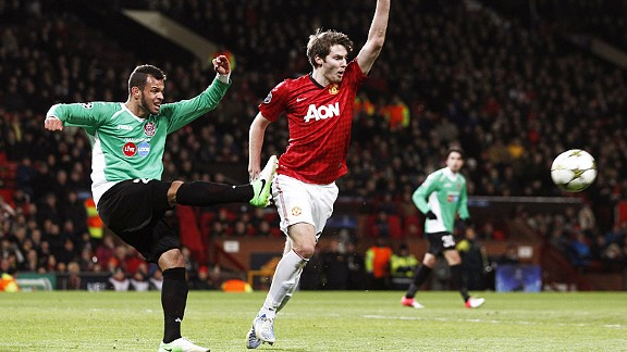 Nick Powell is seen as one of United's bright young talents for the future