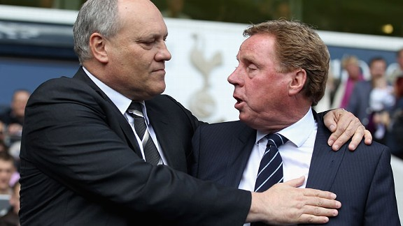 Fulham's Martin Jol and QPR's Harry Redknapp will meet at Loftus Road