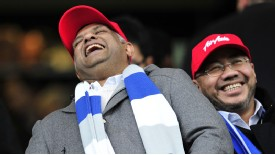 Tony Fernandes laugh