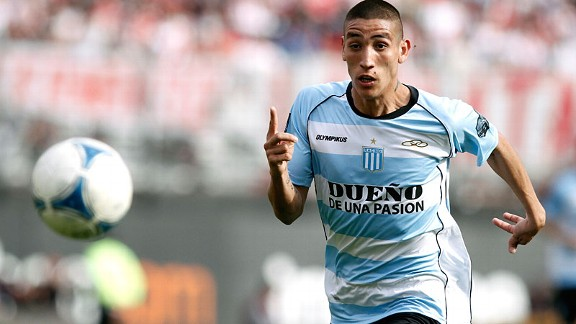 Ricardo Centurion is likened to Madrid-based compatriot Angel di Maria