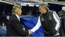 Manuel Pellegrini was replaced by Jose Mourinho in the Real Madrid dugout