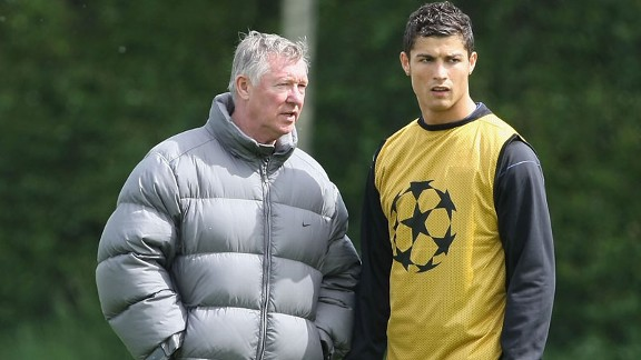Sir Alex Ferguson and Cristiano Ronaldo will be reunited in the Champions League