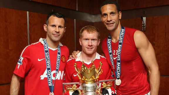 Sir Alex Ferguson is reliant on his experienced stars including Ryan Giggs, Paul Scholes and Rio Ferdinand