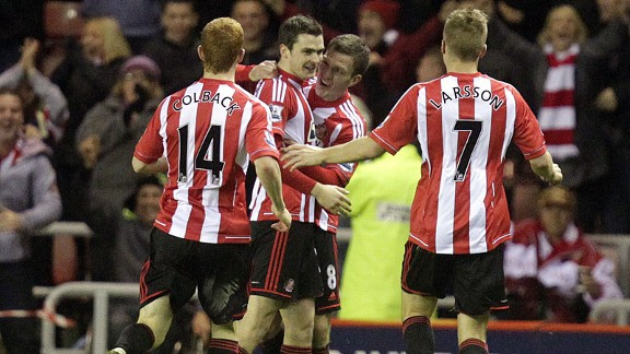 Adam Johnson returned to haunt his former side Man City and earn Sunderland three much-needed Premier League points