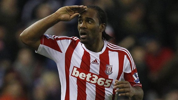 Cameron Jerome celebrates his late equaliser