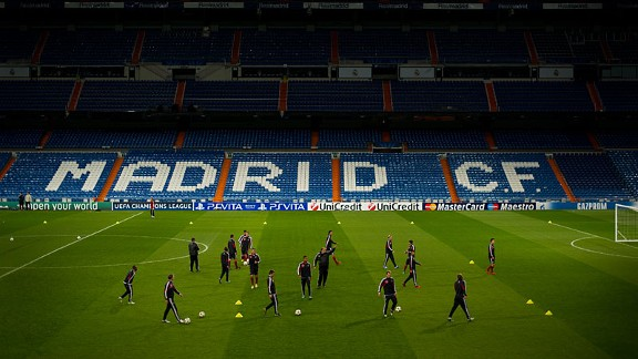 Real Madrid are back in training for the resumption of La Liga