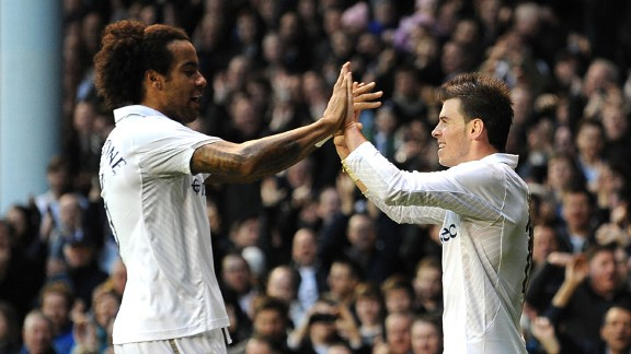 Tom Huddlestone, Gareth Bale